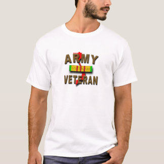 Vietnam War Veteran Service Ribbon, ARMY T-Shirt