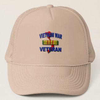 Vietnam War Veteran Service Ribbon, Semper Fi Trucker Hat