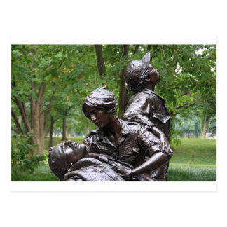 Vietnam Womens Memorial Postcard