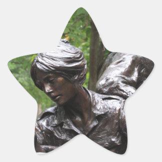 Vietnam Womens Memorial Star Sticker
