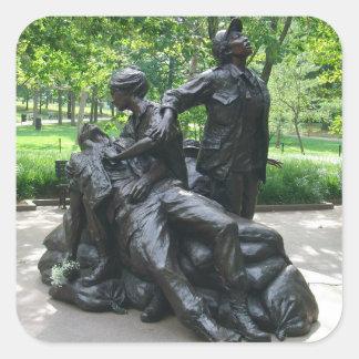 Vietnam Women's Memorial, Washington, D.C. Square Sticker