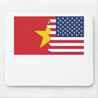 Vietnamese American Flag Mouse Pad