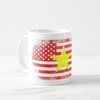 Vietnamese American Flag   Vietnam and USA Design Coffee Mug