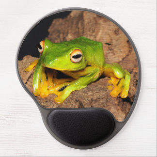 Vietnamese Black-Webbed Gliding Frog Gel Mouse Pad