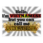 Vietnamese, but call me Awesome Postcard