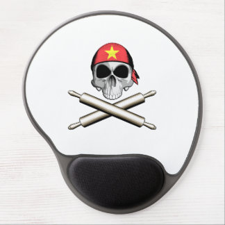 Vietnamese Chef 3 Gel Mouse Pad