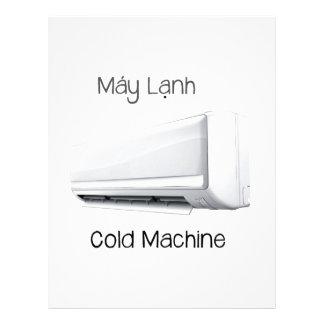 Vietnamese Cold Machine Máy Lạnh Letterhead