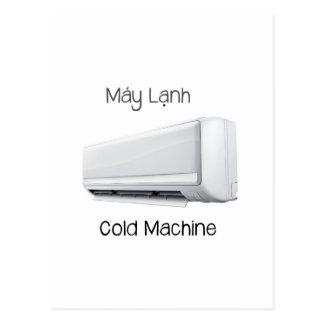 Vietnamese Cold Machine Máy Lạnh Postcard