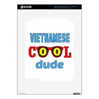 Vietnamese Cool Dude Decal For iPad 3