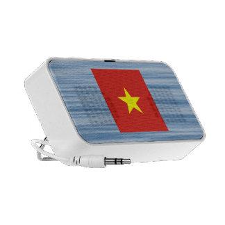 Vietnamese Flag Floating on water Mini Speakers