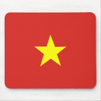 Vietnamese Flag Mouse Pad