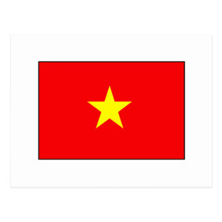 Vietnamese Flag T-shirts and Gifts Postcard
