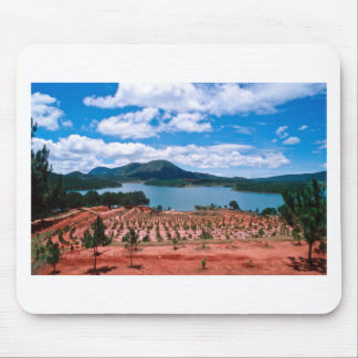 Vietnamese Forest Lake Mouse Pad