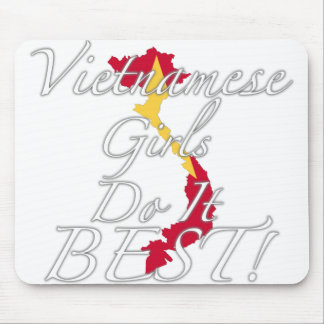 Vietnamese Girls Do It Best! Mouse Pad