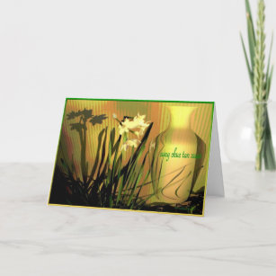 vietnamese happy new year paperwhites holiday card