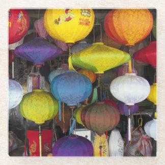 Vietnamese lamps glass coaster