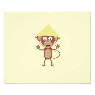 Vietnamese monkey photo print