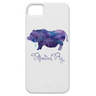 Vietnamese Potbellie Pig Watercolor Design iPhone SE/5/5s Case