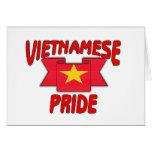 Vietnamese pride greeting card