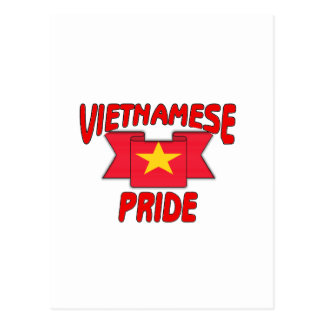Vietnamese pride postcard