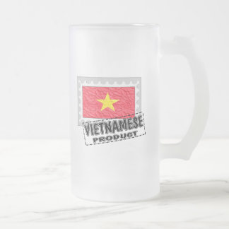 Vietnamese product frosted glass beer mug