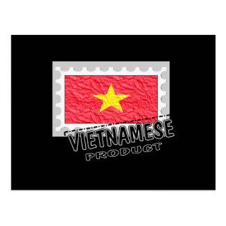 Vietnamese product postcard