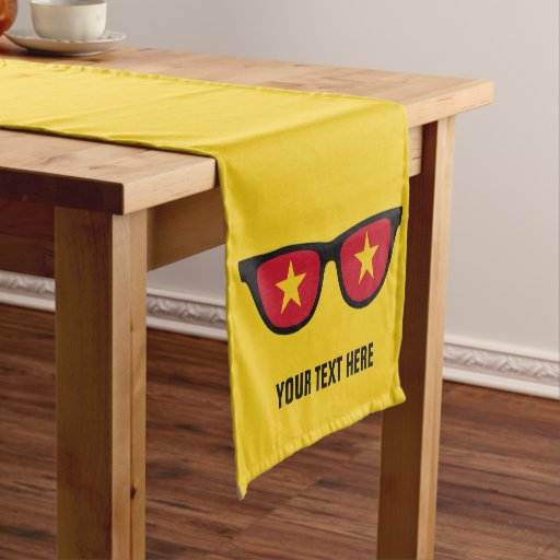 vietnamese   Table Shades custom table Short Vietnamese  runners Runner Zazzle runners table