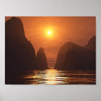 Vietnamese Sunset Poster