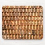 Vietnamese terracotta roof tiles mousepad