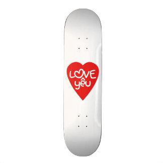 Vietnamese Valentine ♥ Love Yêu ♥ Asian Wordplay Skateboard Deck