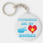 Vietnameses are my Homies Basic Round Button Keychain