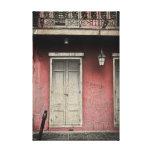 Vieux Carre Architecture Stretched Canvas Prints