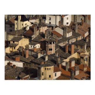 Vieux Lyon Old Lyon), France Postcard