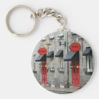 Vieux/Old Quebec Keychain