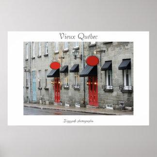 Vieux Québec/ Old Quebec poster