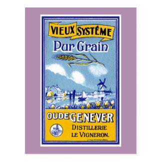 Vieux Systeme Pur Grain Postcard