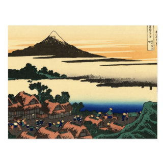 view 36+09 from 36 views of Mount Fuji Postcard