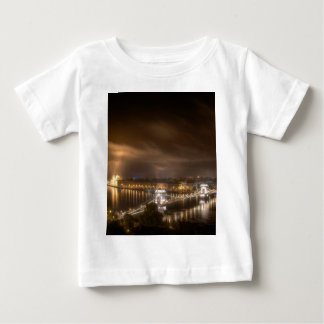 View across Budapest from Buda Castle Baby T-Shirt