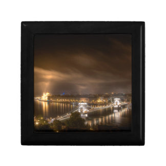 View across Budapest from Buda Castle Keepsake Boxes