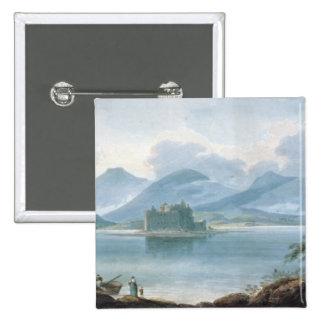 View across Loch Awe Pinback Button