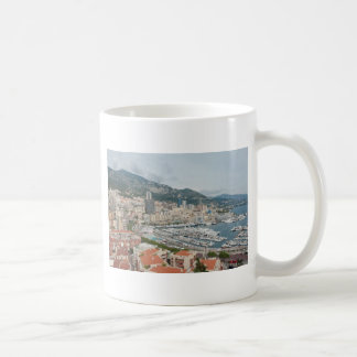 View across Monaco and Monte Carlo Coffee Mug