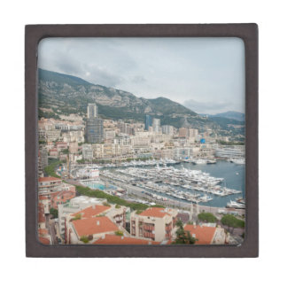 View across Monaco and Monte Carlo Keepsake Box