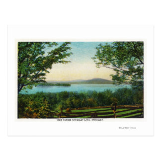View Across Rangeley Lake Post Cards
