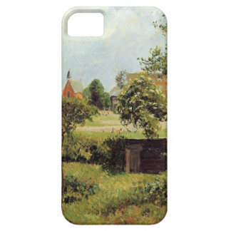 View Across Stamford Brook Common by Camille Pissa iPhone SE/5/5s Case