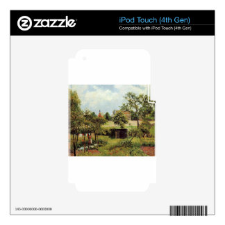View Across Stamford Brook Common by Camille Pissa iPod Touch 4G Skin
