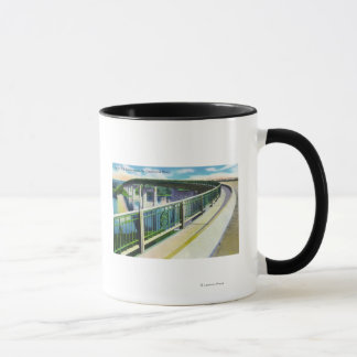 View across the Connecticut River Mug