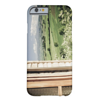 View across Tuscan landscape to farmhouse and Barely There iPhone 6 Case