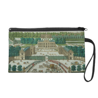 View and Perspective of the Entrance to the Chatea Wristlet