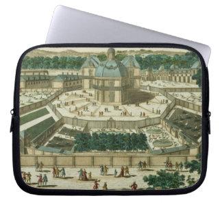 View and Perspective of the Salon de la Menagerie Laptop Sleeve