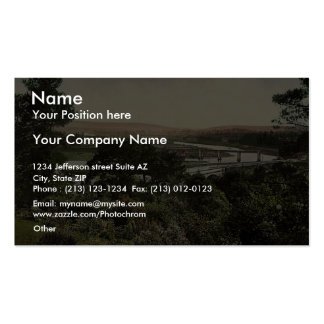 View at Cappoquin. Co. Waterford, Ireland rare Pho Business Card Templates